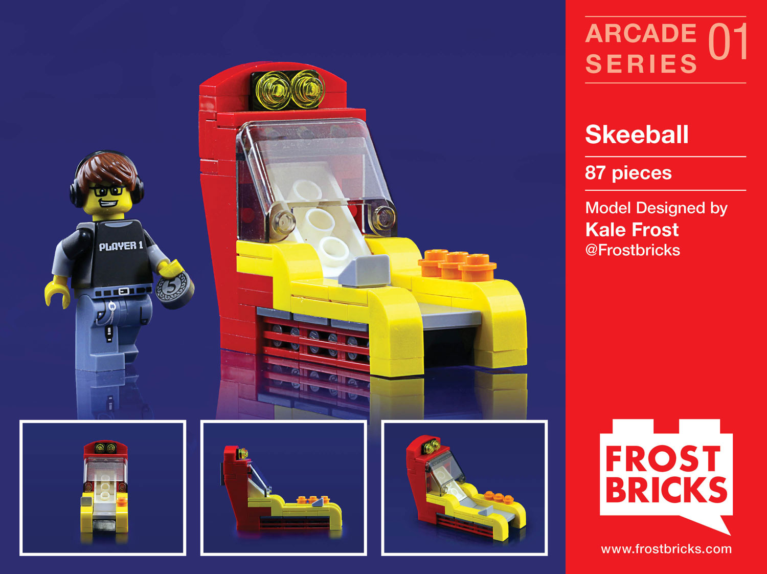 Frost Brick Skee-ball
