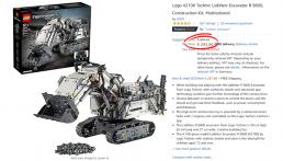 [Aanbieding] LEGO 42100 Technic Liebherr voor €293,86