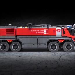 Airport Firetruck Rosenbauer Panther 8x8