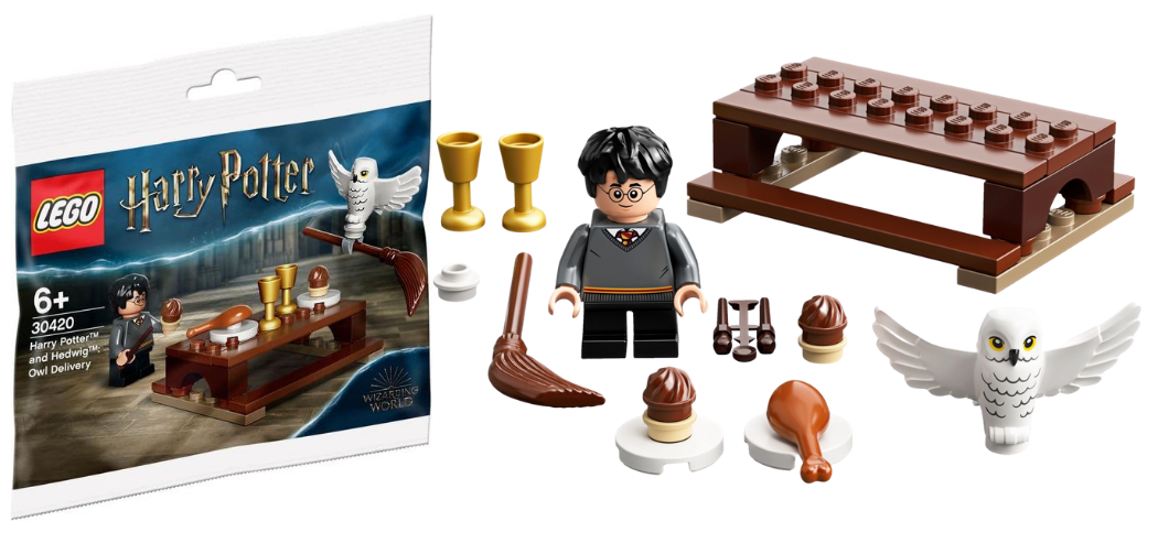 Gratis LEGO Harry Potter 30420 Harry and Hedwig Owl Delivery