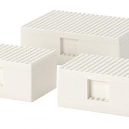 IKEA BYGGLEK set van drie