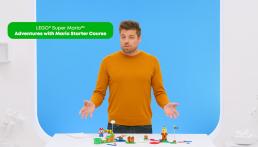 Jonathan Bennink Lead Designer LEGO Super Mario