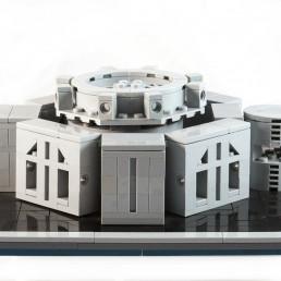 LEGO Ideas Bangladesh National Parliament