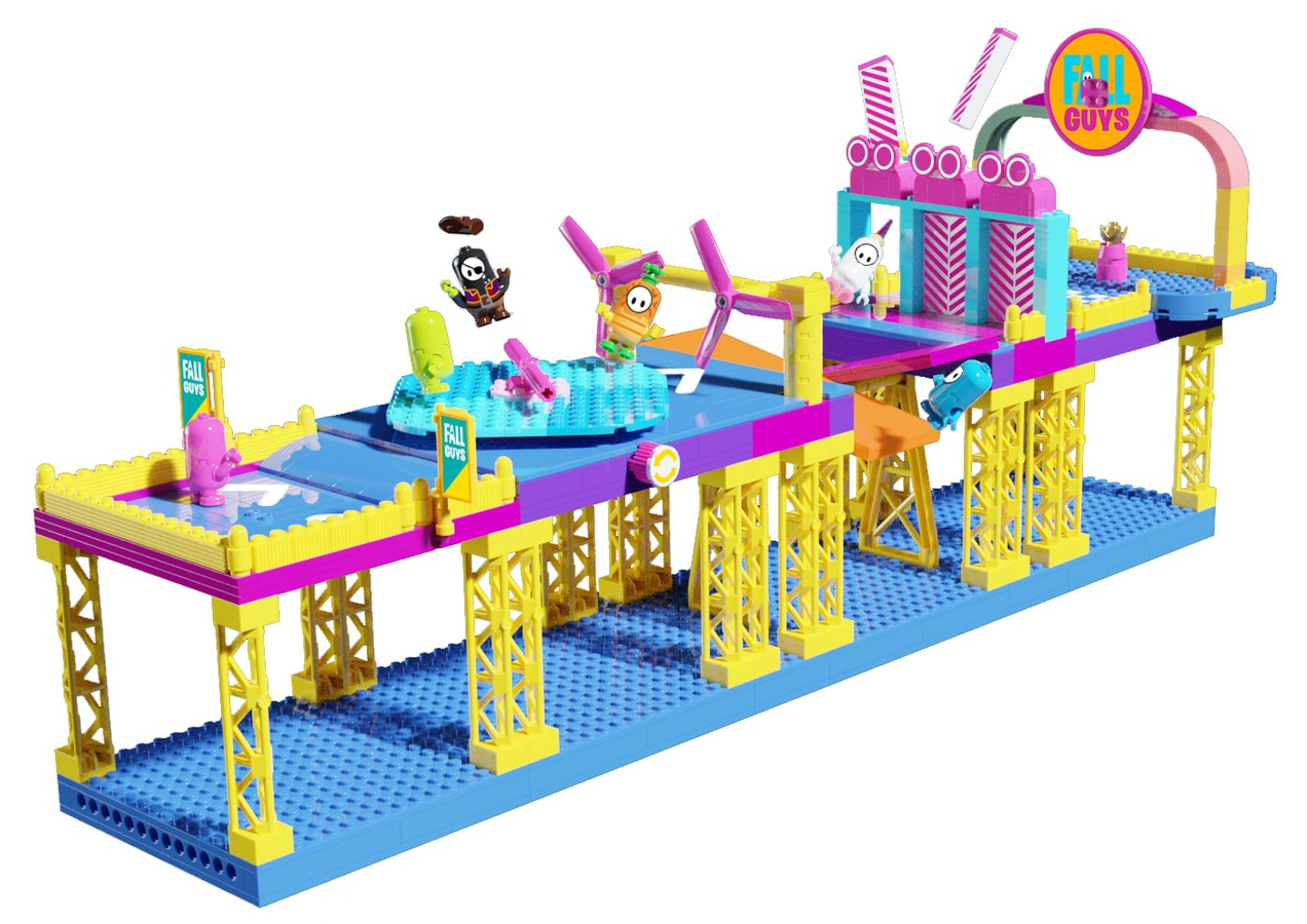 LEGO Ideas Fall Guys Ultimate Knockout Course