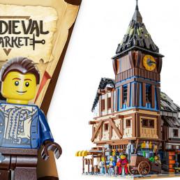 LEGO Ideas Medieval Market