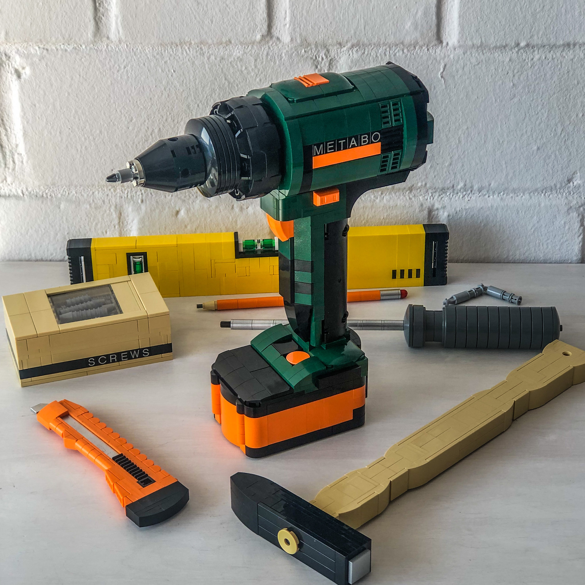 LEGO Metabo electric drill