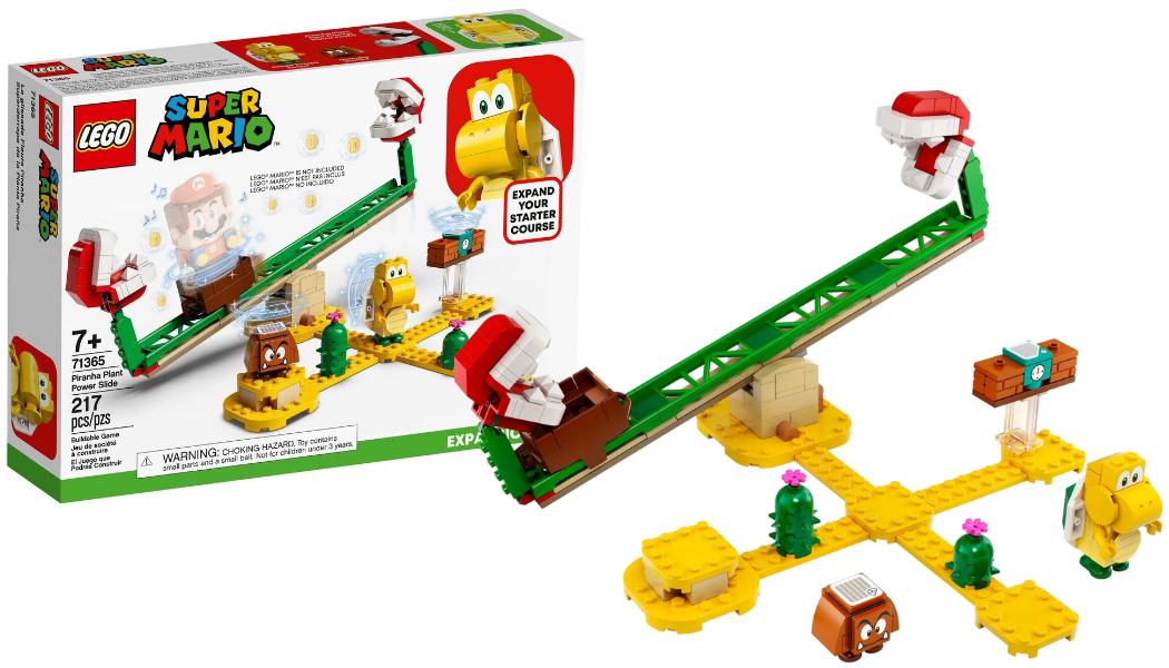 LEGO Super Mario 71365 Piranha Plant Power Slide