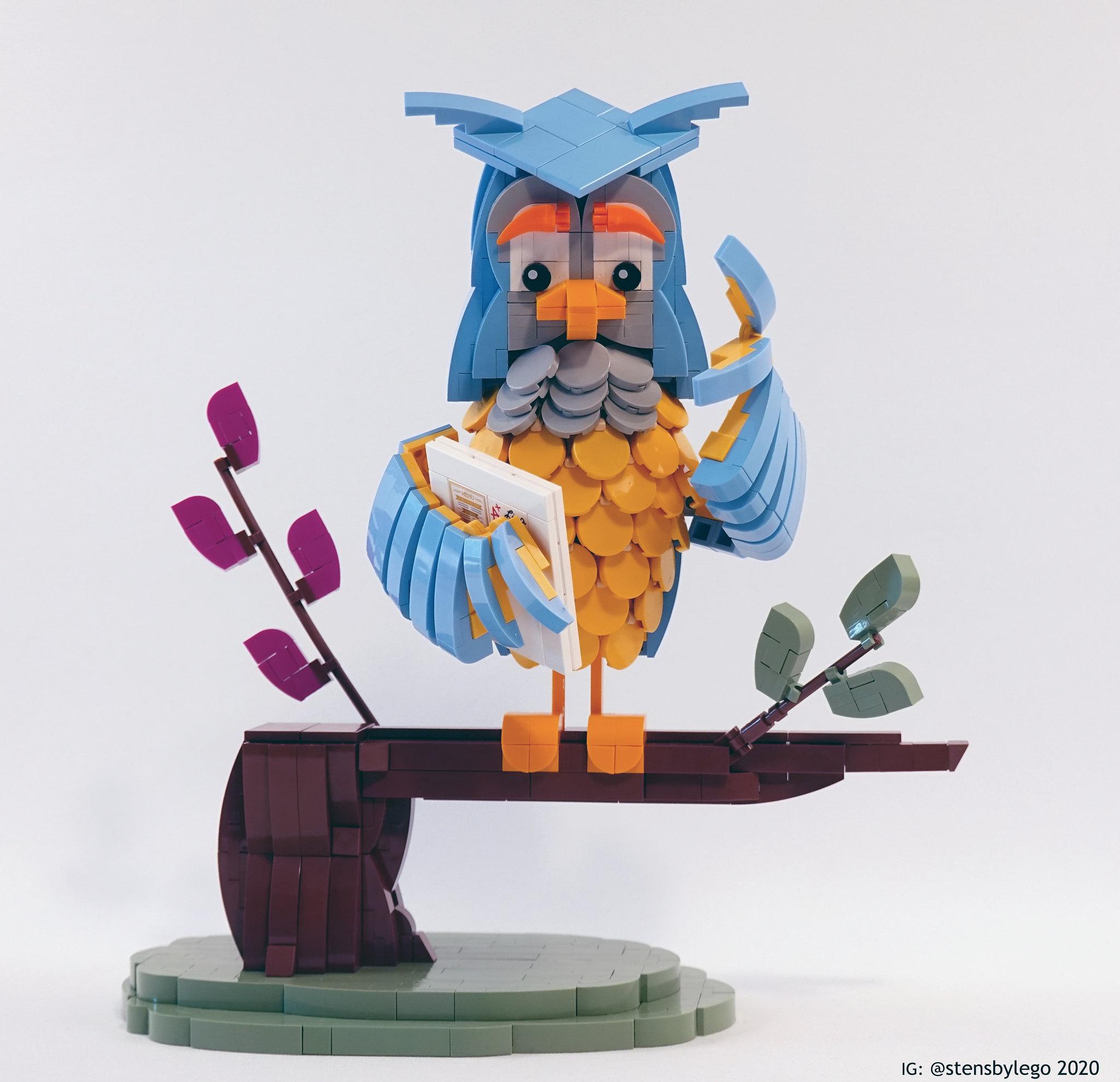 [MOC] LEGO Meneer de uil