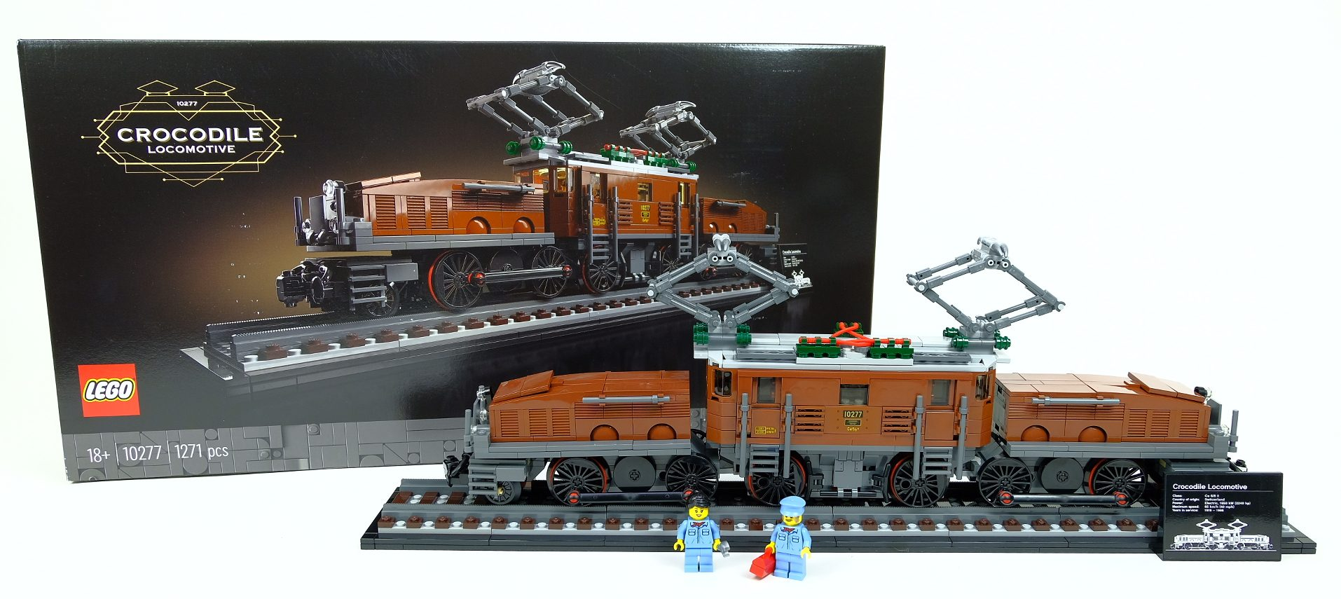 [Review] LEGO Crocodile Locomotive