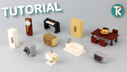 [Tutorial] Bouw LEGO meubels