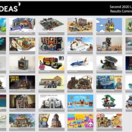 Kandidaten tweede LEGO Ideas review 2020