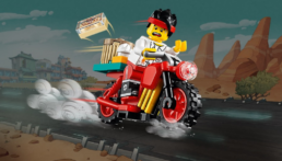 Gratis LEGO 30341 Monkie Kid's Delivery Bike