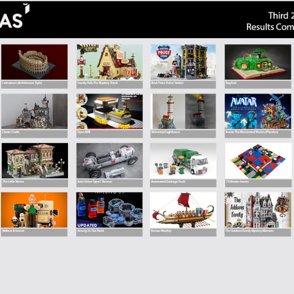 Kandidaten derde LEGO Ideas review 2020