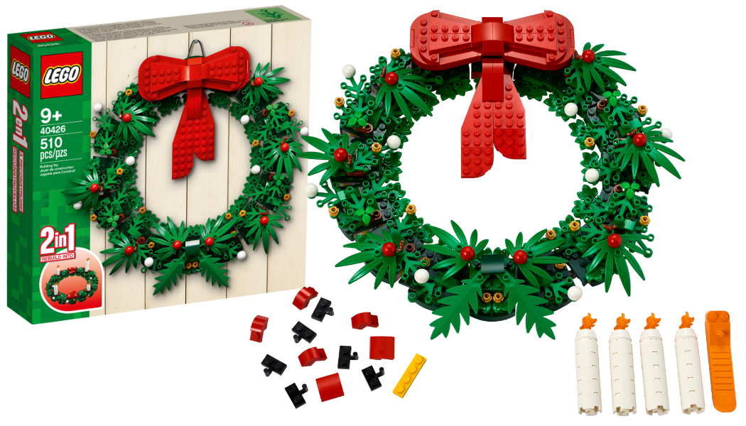 LEGO 40426 Christmas Wreath 2-in-1
