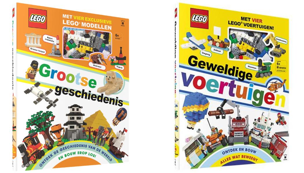 LEGO Grootse geschiedenis - LEGO Geweldige voertuigen