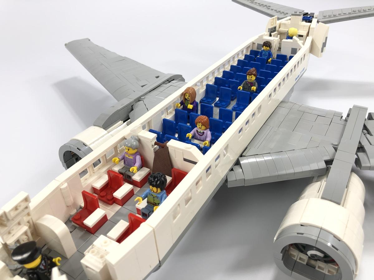 LEGO Ideas 737-500 Passenger Plane