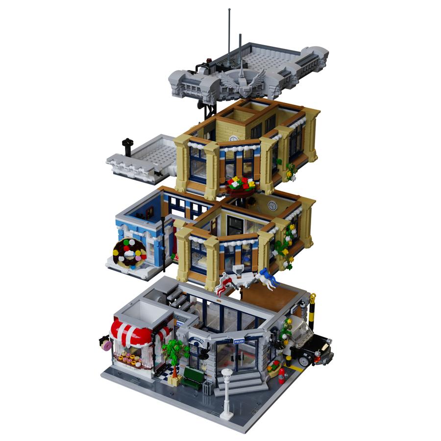 LEGO Ideas Brick Town Police Station