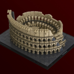 LEGO Ideas Colosseum bereikt 10K supporters