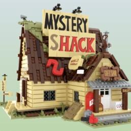 LEGO Ideas Gravity Falls - The Mystery Shack (15)