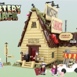 LEGO Ideas Gravity Falls - The Mystery Shack (15)