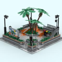 LEGO Ideas Palm Hill Skate Park