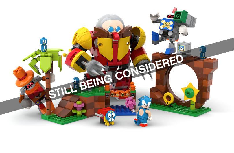 LEGO Ideas Sonic Mania - Green Hill Zone