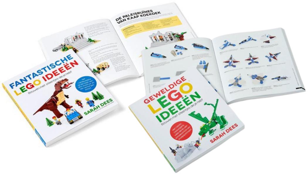 LEGO Ideeën boeken