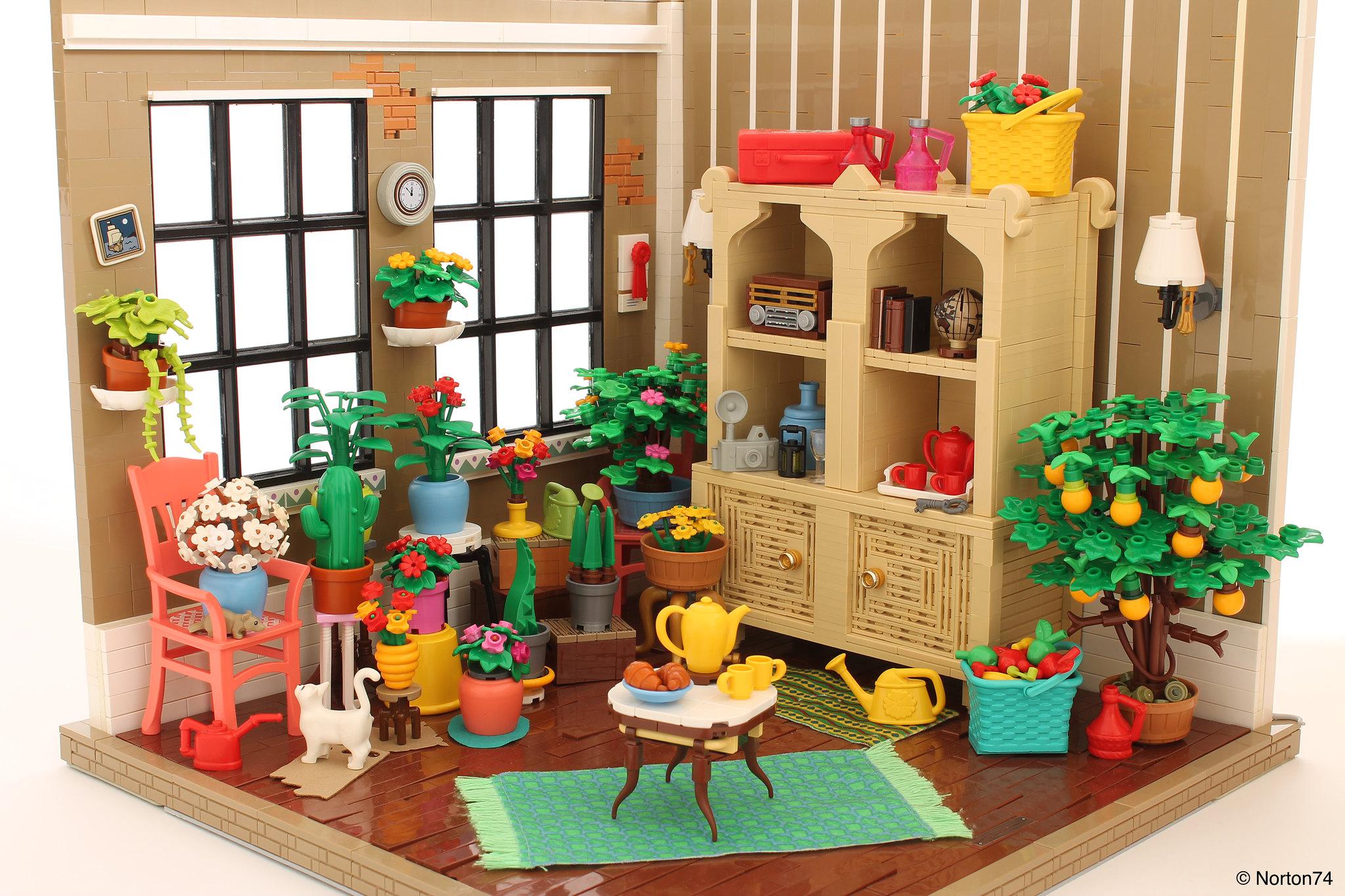 LEGO Jardin d'hiver - Norton74