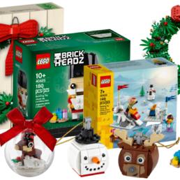LEGO kerst seizoensets 2020