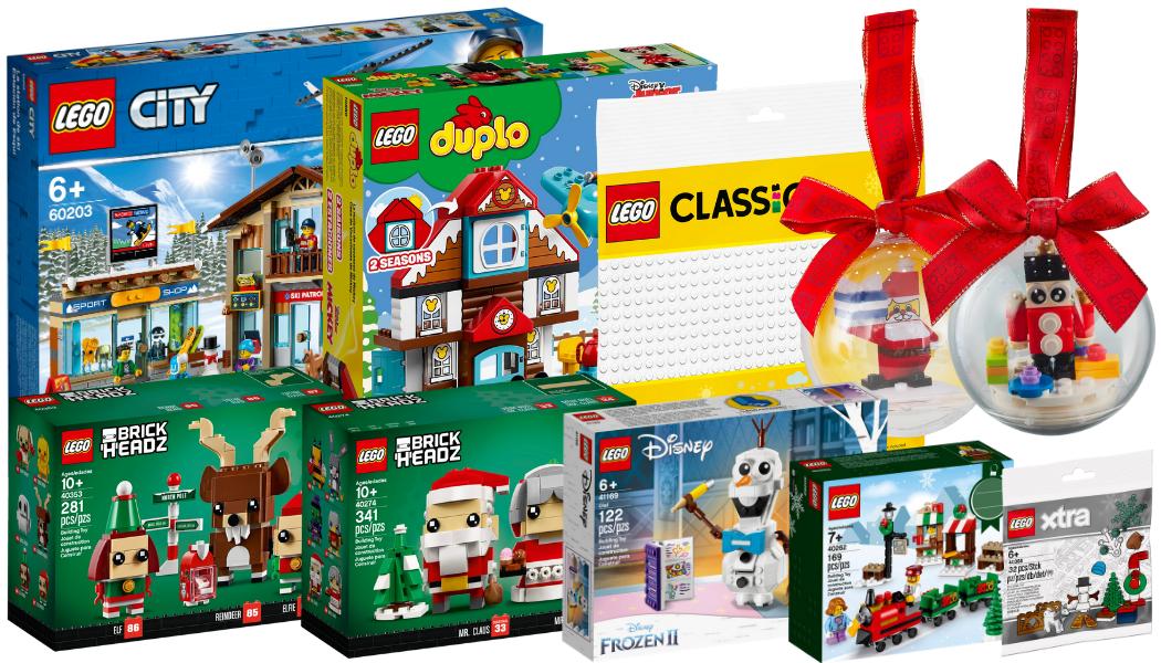 LEGO kerst-sets