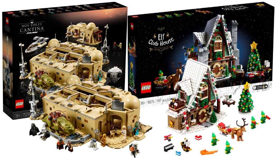 Nieuwe LEGO sets oktober 2020