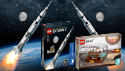 Re-release LEGO NASA Apollo Saturn V & LEGO Ship in a Bottle (1)