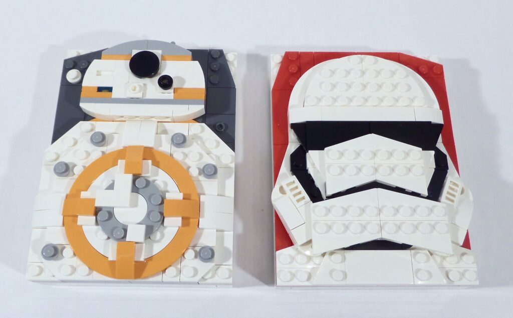 LEGO Star Wars Brick Sketches