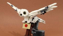 Gemotoriseerde LEGO Hedwig