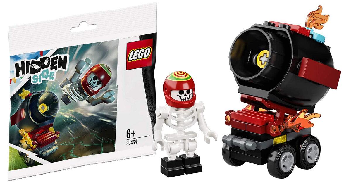 Gratis LEGO 30464 El Fuego's Stunt Canon