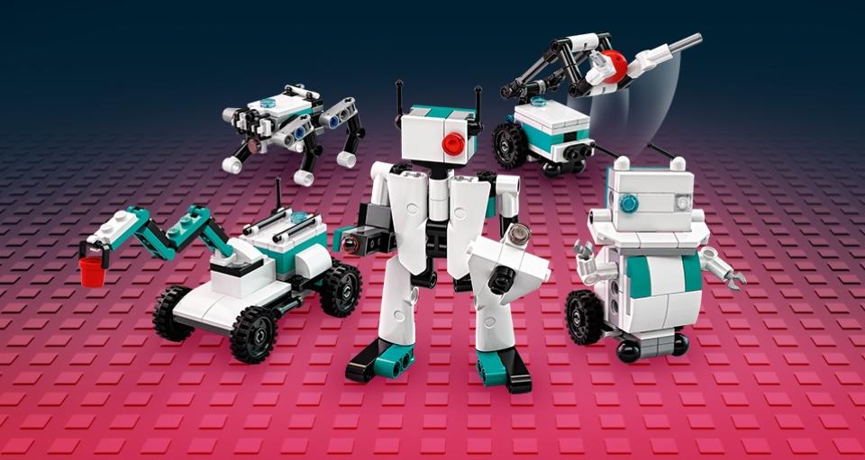 Gratis LEGO 40413 mini Robots