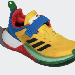LEGO-Adidas-young-running-shoes