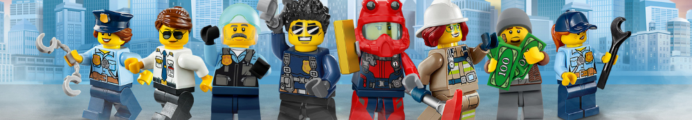 LEGO City banner