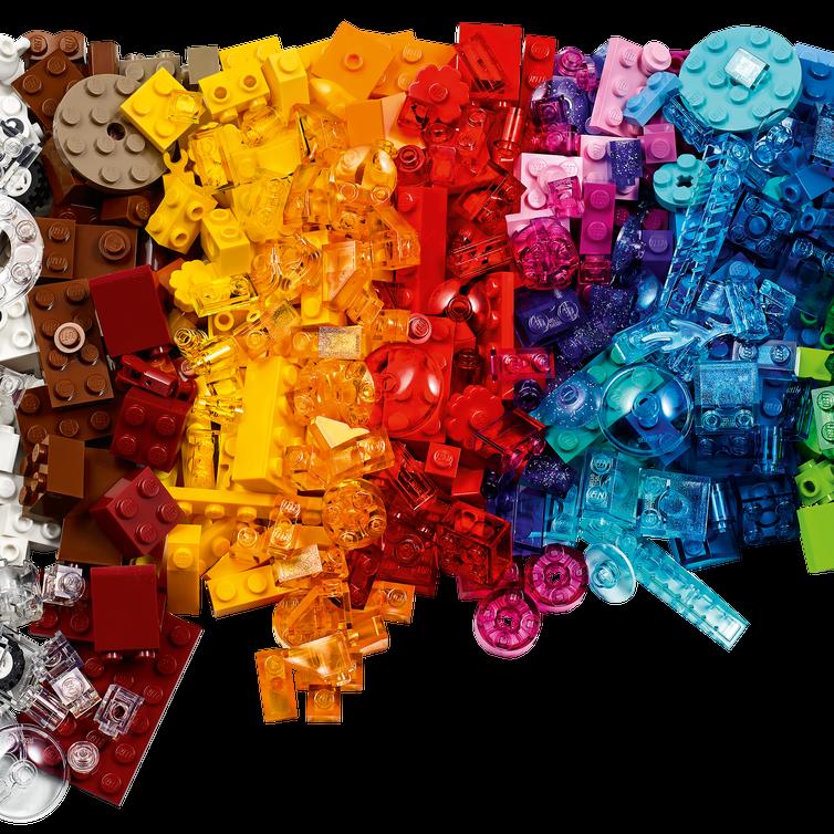 LEGO Classic 11013 Creative Transparent Bricks