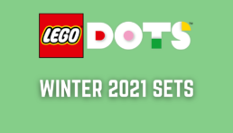 LEGO DOTS winter 2021 sets