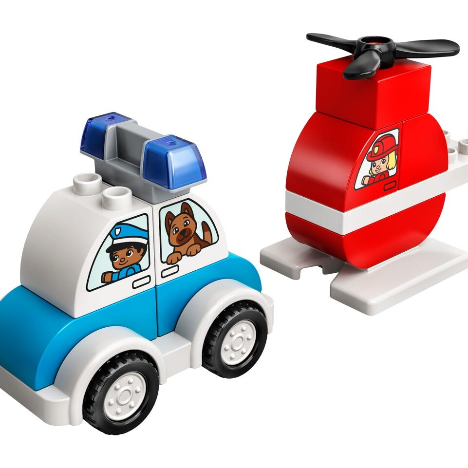 LEGO DUPLO 10957 Fire Helicopter and Police Car