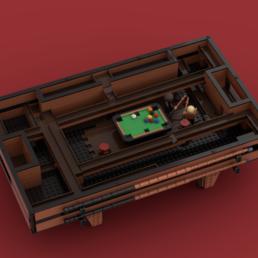 LEGO Ideas Functional Pool Table