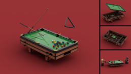 LEGO Ideas Functional Pool Table