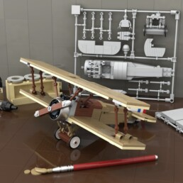 LEGO Ideas Model Plane Kit