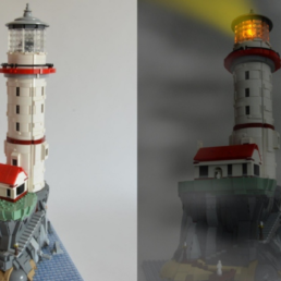 LEGO Ideas Motorized Lighthouse