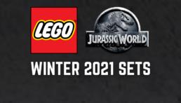 LEGO Jurassic World winter 2021 sets