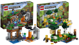 LEGO Minecraft winter 2021 sets