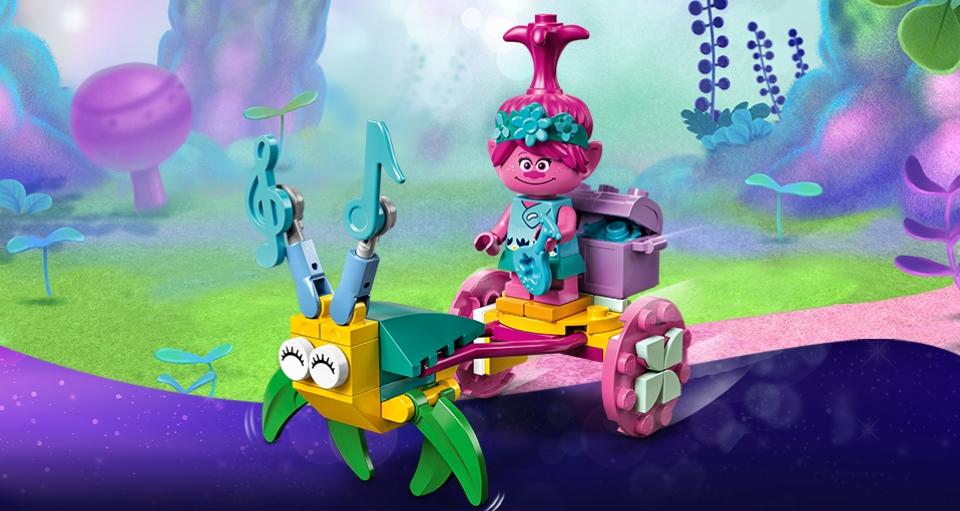 LEGO Trolls 30555 Poppy's Koets
