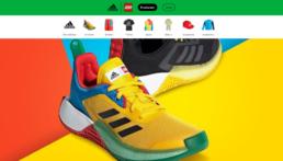 LEGO x Adidas producten