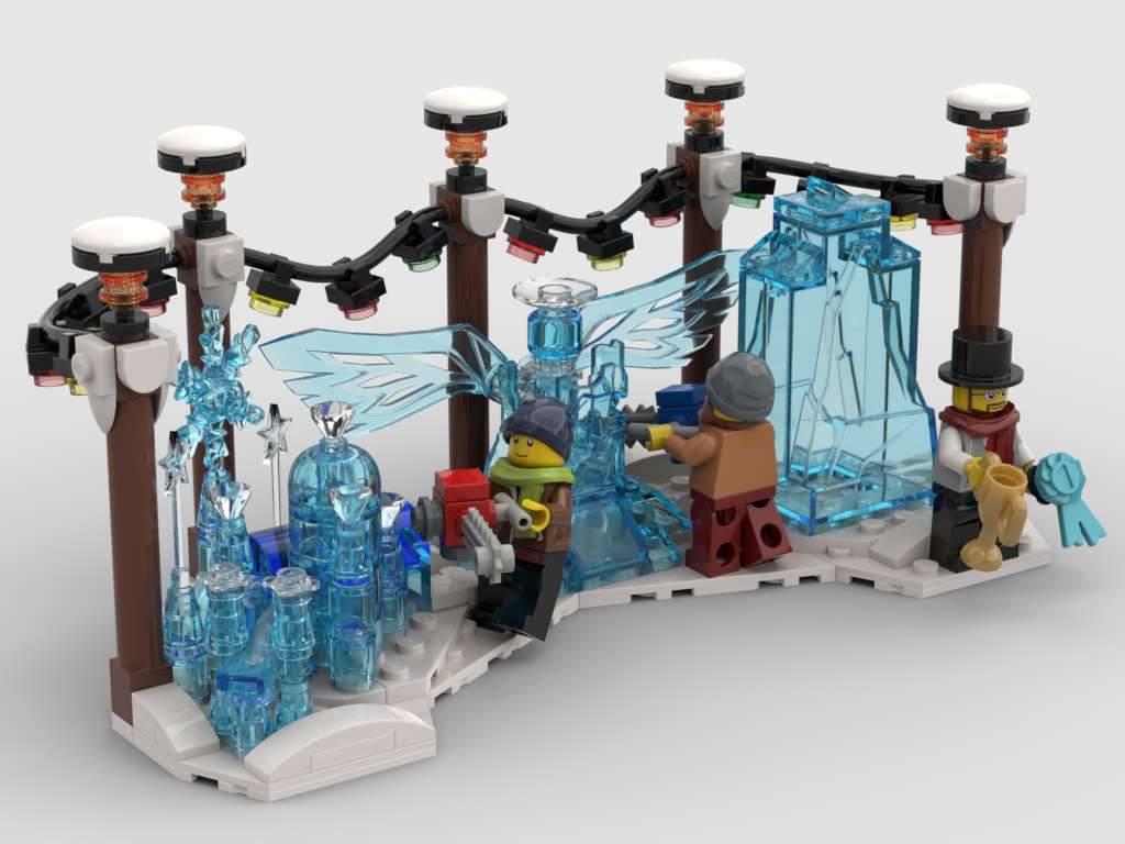 Ice sculpture contest